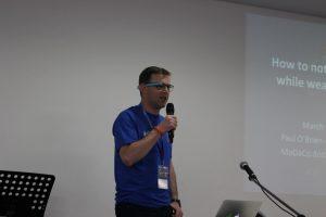 Paul O'Brien discusses wearables