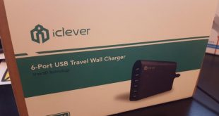 iClever 6 Port USB Travel Wall Charger