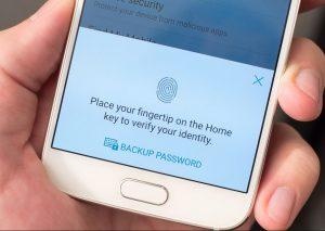 Samsung have improved their fingerprint registration process