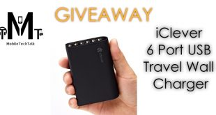 iClever 6-Port USB Charger Giveaway