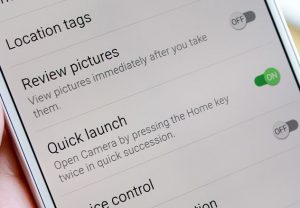 Speedy access to your camera via Quick Launch