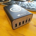 EC Technology 5 USB Charger with Qi