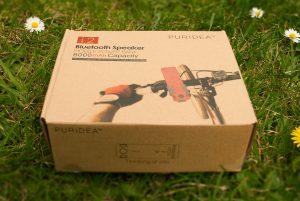 puridea 8000mah powerbank and wireless speaker