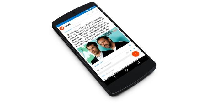 reddit-app-mainpage
