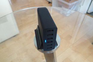 Choetech 50W 6-Port Desktop USB Charger Review