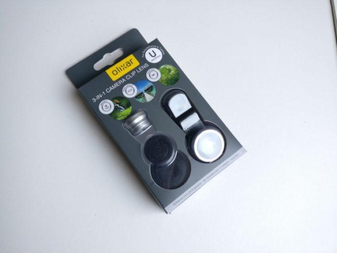 Olixar 3-in-1 Camera lens kit