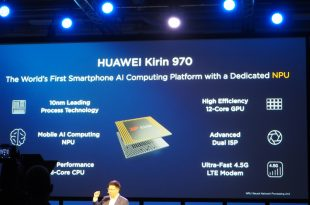 Kirin 970 announcement