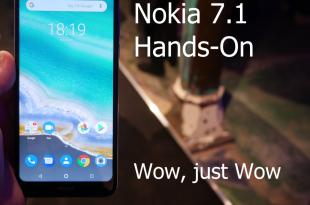 Nokia 7.1 hands on