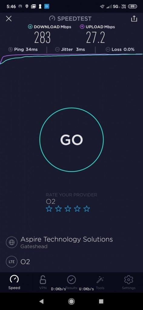 5G on O2: Got it at last!!!