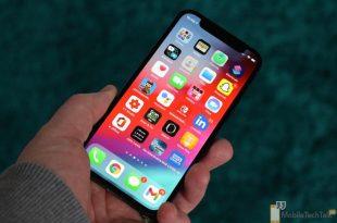 iPhone 12 Mini display in hand
