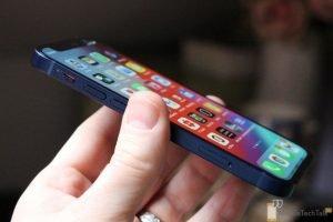 iPhone 12 Mini side