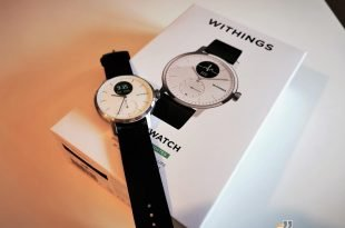 Withings ScanWatch on the box